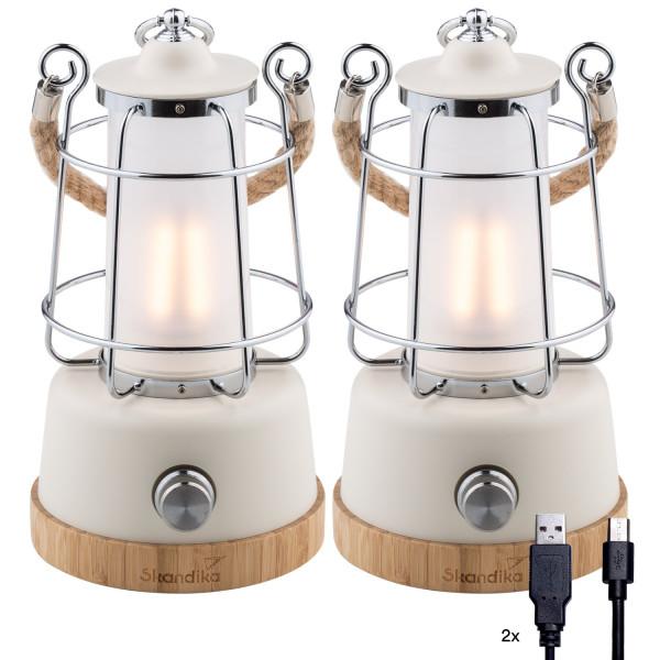 2 Lampes de camping Skandika Kiruna