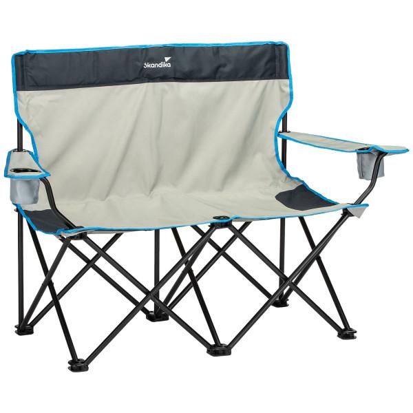Chaise de camping double Skandika Banc pliant supportant jusqu'à 200 kg