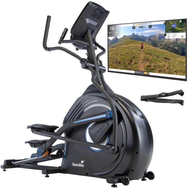Vélo elliptique Skandika CardioCross Carbon Conqueror