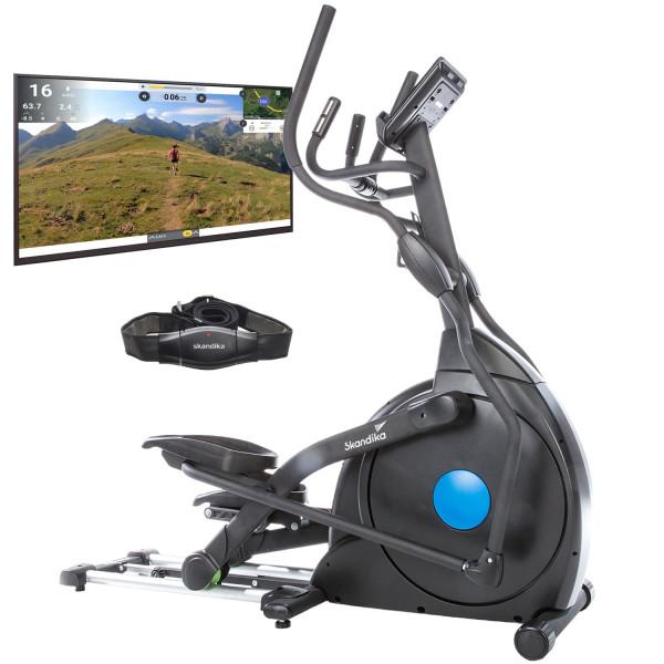 Vélo Elliptique Skandika CardioCross Carbon Champ