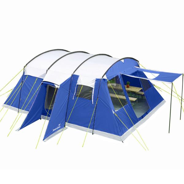 SKANDIKA Tente tunnel Milano 6 Sleeper Protect (bleu)