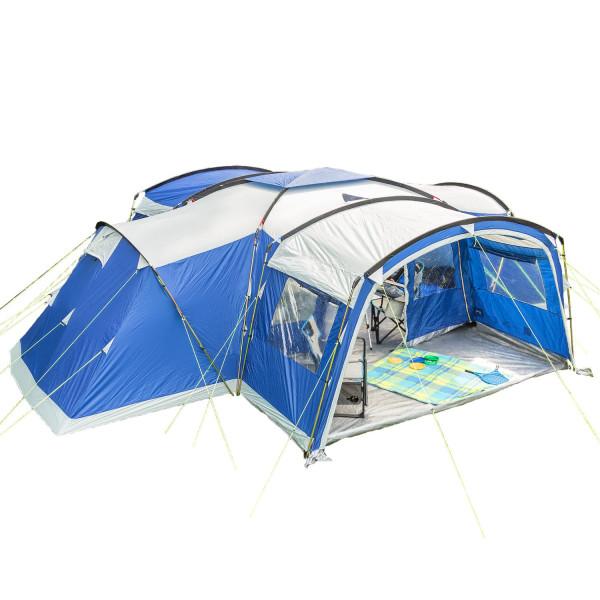 Tente familiale Skandika Nimbus 12 Protect (bleu)