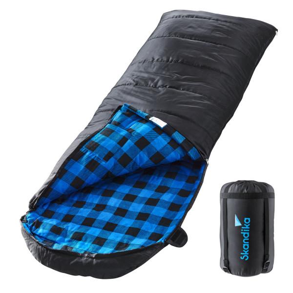 Skandika Dundee Sac de couchage couverture (zip à droite)