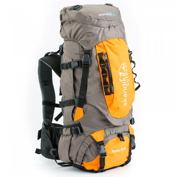 Sac à dos Skandika Bogong 45+10 (gris/orange)