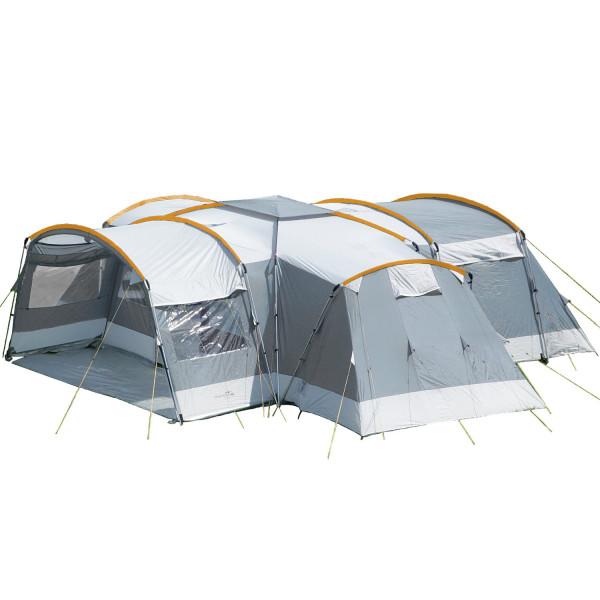 Tente familiale Skandika Nimbus 12 Protect (gris)