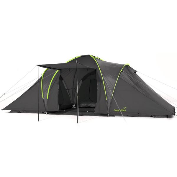Tente dôme Skandika Daytona 6 (anthracite/vert)